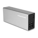 Powerocks Rose Stone Universal 6000mAh Extended Battery, Silver , 370709