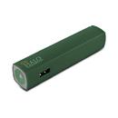 Halo Pocket Power Starlight 3000mAh Power Bank with Flash Light, Green