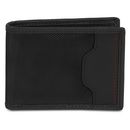 Travelon SafeID Accent Deluxe Billfold Wallet with RFID Protection, Black, 82865-500