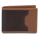Travelon SafeID Accent Deluxe Billfold Wallet with RFID Protection, Saddle, 82865-740