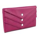 Travelon Tri-Flap Wallet, Pink