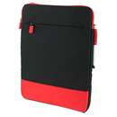 Incipio Asher Nylon Sleeve Case for Microsoft Surface 3, Red/Black , MRSF-086-BRED