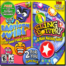 ValuSoft 15015 Emoticon Swirl & Sling Dottery - 2 For You Game Pack