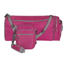 Travelon Convertible 2-in-1 Crossbody Duffel, Berry , 42818-910