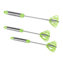 Ronco Self Turning Turbo Whisk, Green (3 Pack)