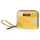 Po Campo BW3615 Po Campo Bill Fold Wallet, Yellow Feathers