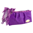 Jacki Design Summer Bliss Compact Cosmetic Bag, Purple