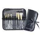 Jacki Design Vintage Allure 7 Pc Make Up Brush Set And Bag - Black