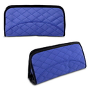 Travelon 62331-TS Travelon Jewelry & Cosmetic Clutch w/ Removable Center Pouch, Periwinkle Quilted