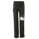 Realtree Women's Luna Sweatpants, Black (Large)