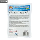 Mabis 143-0010-9824 Vida Mia Instant Ice Compress Pack Cold Therapy Pain Relief First Aid 6x8 24ct