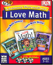 Dorling Kindersley Multimedia 00171 I Love Math Learning Power Pack