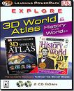Dorling Kindersley Multimedia 00195 Explore 3D World Atlas Learning Power Pack