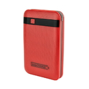 instaCharge EL-RCHG11(RED) InstaCHARGE 11000mAh Power Bank Portable Device And Phone Charger - Red