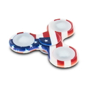 Generic 18188 Stress Relieving Fidget Spinner - American Flag