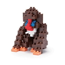 Nanoblock 58118 Nanoblock Baboon Building Kit 3D Puzzle Toy Building Set Kit