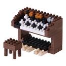 Nanoblock NBC148 Nanoblock Electric Organ Building Kit 3D Puzzle