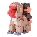 Nanoblock NBC162 Nanoblock Mother & Baby Monkey Building Kit 3D Puzzle