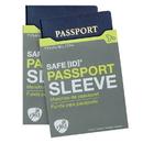 Travelon 12720-510-TG70-01 Travelon SafeID RFID Blocking Passport ID Protected - Gray, 2Pack