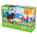 BRIO 33952 BRIO Figure and Dog