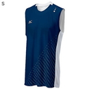 Mizuno 440391.5100.04. Mizuno DryLite Men's National VI Sleeveless Jersey, Navy & White - S