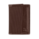 Travelon 82022-780 Travelon Hack-Proof RFID Blocking Bifold Card Holder Slim Wallet Brown