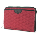 Knomo 18-507-SCT Knomo Fitzrovia Collection Foley Quilted City Tablet Sleeve Bag - Scarlet