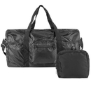 Travelon 43155 Travelon Triplogic Foldable Travel Duffel Luggage Sports Gym Carry-On Bag Black