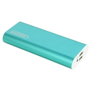 instaCharge EL-KS instaCHARGE 12000mAh Dual USB Power Bank Portable Battery Charger - Turquiose