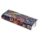 instaCharge EL-12KS instaCHARGE 12000mAh Dual USB Power Bank Portable Battery Charger Paisley