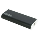 instaCharge EL-12000U instaCHARGE 12000mAh Dual USB Power Bank Portable Battery Charger - Black