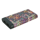 instaCharge 484871K9L InstaCHARGE 16000mAh Dual USB Power Bank Portable Battery Charger Paisley