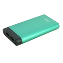 instaCharge 484871339 InstaCHARGE 16000mAh Dual USB Power Bank Portable Battery Charger - Teal EL-16K