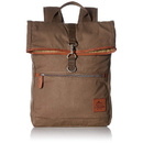 Buxton EX91423 Buxton Men's Expedition II Huntington Gear Fold-Over Canvas Backpack Olive