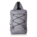 Buxton TH425 Buxton Thor Sling Waterproof Utility Hiking Daypack Backpack Gray