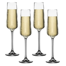 Cuisinart CGE-01-S4CF Cuisinart Elite Vivere Collection Champagne Flute, Set of 4