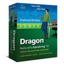 Nuance A109A-KN9-10.0 Dragon Naturallyspeaking 10 Preferred Wireless Bundle