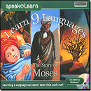 SelectSoft Publishing LESPL9MOSJ Learn 9 Languages The Story Of Moses