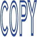 Xstamper 1006 1-Color Pre-Inked Title Stamp reads: