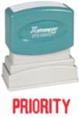 Xstamper 1033 1-Color Pre-Inked Title Stamp reads: