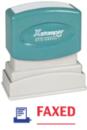 Xstamper 2023 2-Color Pre-Inked Title Stamp reads:
