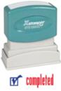 Xstamper 2026 2-Color Pre-Inked Title Stamp reads:
