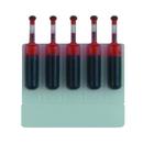 Xstamper 22011 (RED) 5PK Refill Ink Cartridges
