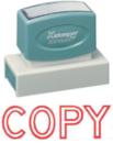 Xstamper 3278 Jumbo Stamp - Copy, Red, 7/8