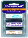 Xstamper 35186 VXSpanish Teacher Stamps Kit 2