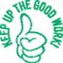Xstamper 35618 'KEEP UP THE GOOD WORK' 7/8