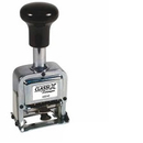 Xstamper 40240 Number Stamp Size 1 / 6-Band Automatic Metal Self-Inking