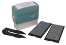 Xstamper 40410 Plastic Self-Inking Message Stamp Kit