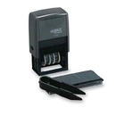 Xstamper 40440 Plastic Self-Inking, Date Stamp Kit