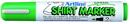 Xstamper 47184 T-Shirt Marker EKT-2, 2.0mm, Green